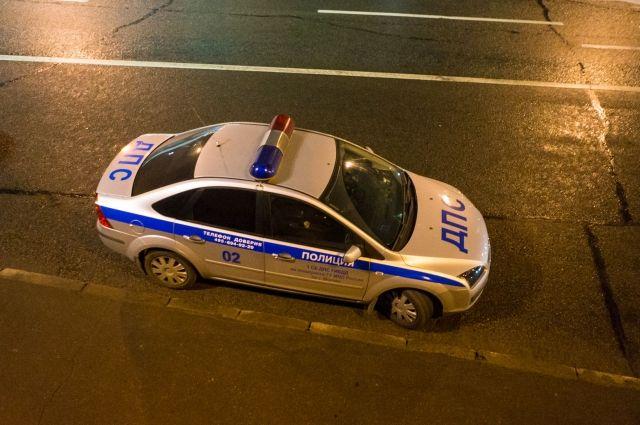 В Тюмени произошло ДТП: столкнулись два автомобиля