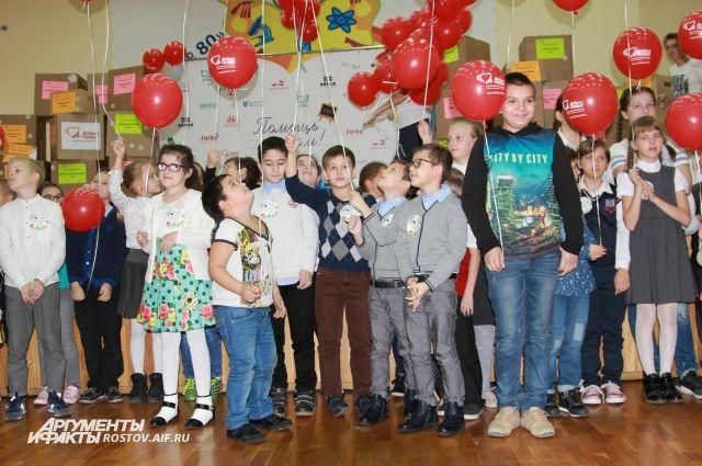 Помощь оказана детям, чьи семьи пострадали от пожара в Ростове 21 августа.