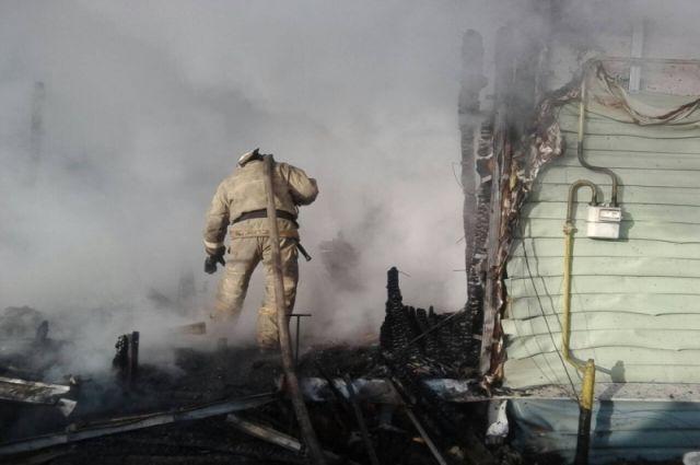 ВТульской области напожаре пострадали люди