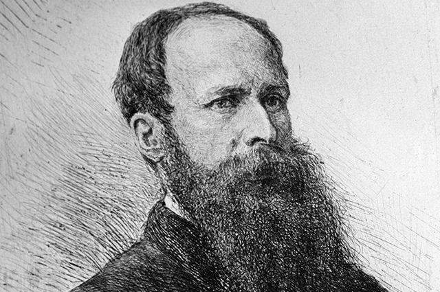 Портрет Василия Верещагина работы Василия Матэ, 1882 г.
