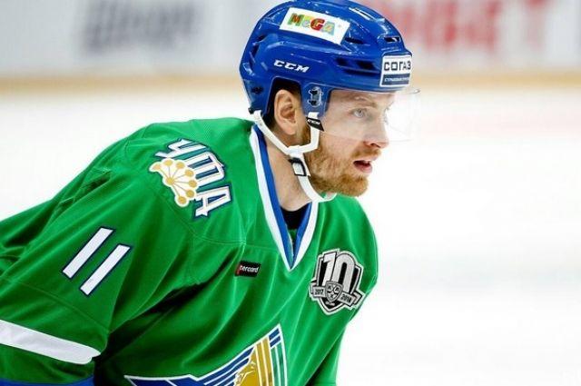 Защитник Григорий Панин сыграл провёл свой 450-ый матч в КХЛ