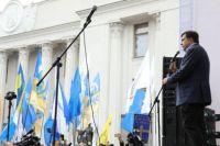 Саакашвили созвал своих сторонников на очередную акцию под Радой