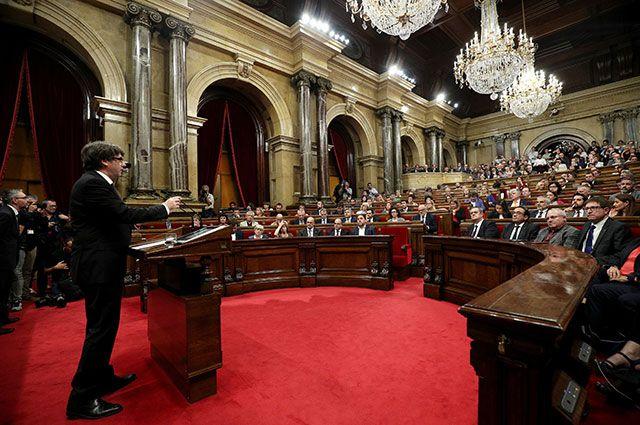 СМИ узнали, когда парламент Каталонии объявит о независимости региона