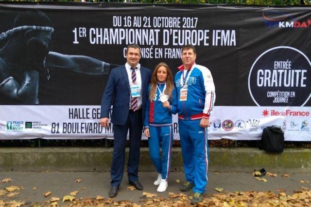 Челябинка завоевала «золото» начемпионате Европы потайскому боксу