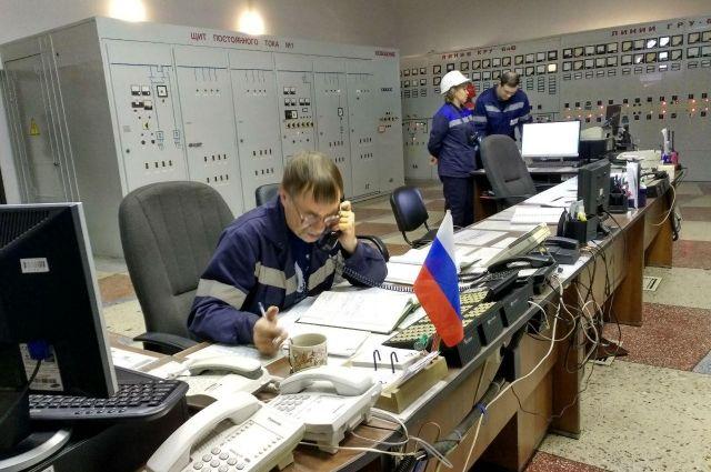 В Кемерове прошли совместные учения спасателей, энергетиков и пожарных.