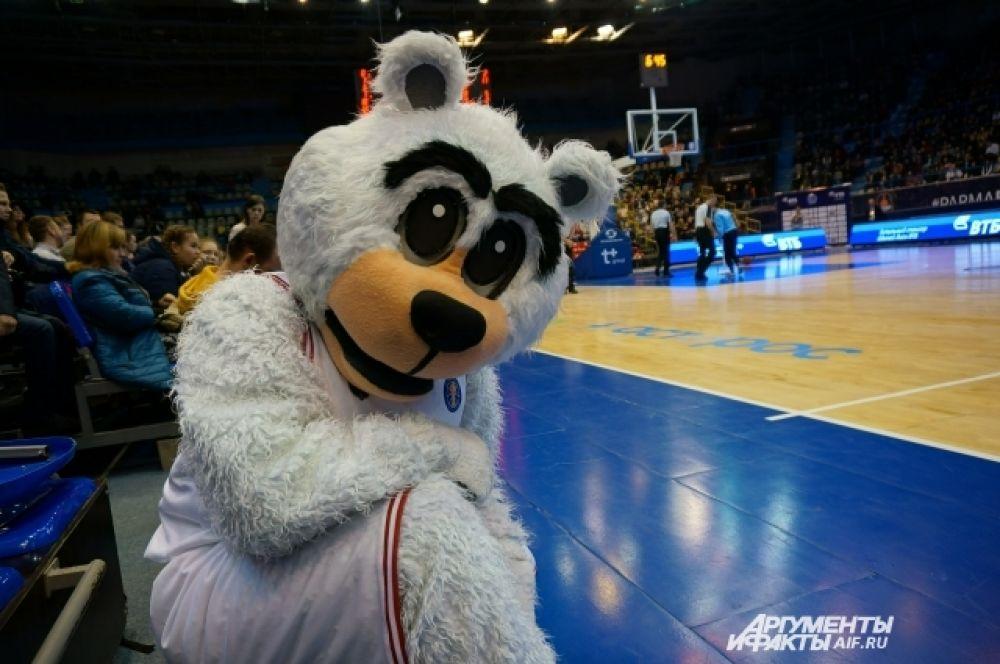 Талисман баскетбольного клуба «Парма».