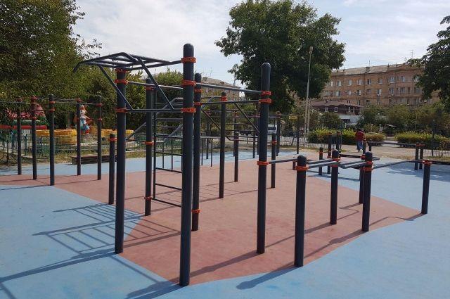 Новая спортивная площадка появится вВолгограде