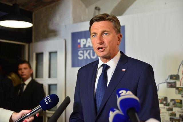 Действующий лидер Словении не выиграл в первом туре выборов президента