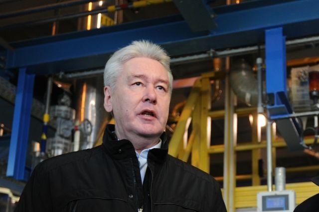 Собянин открыл новый путепровод наЮжнопортовой улице