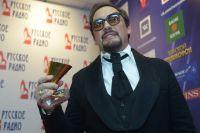 Певец Стас Михайлов на церемонии вручения премии «Золотой граммофон».