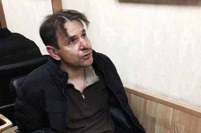 Полиция опубликовала видео допроса мужчины, который ранил Фельгенгауэр