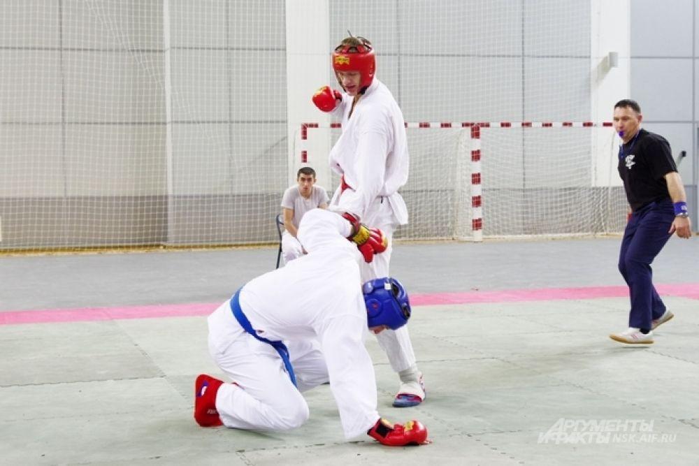 Для настоящего бойца-спортсмена важно уметь во время остановиться.