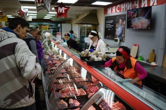 Мясо в магазины поступает ежедневно напрямую с мясоперерабатывающего комбината.