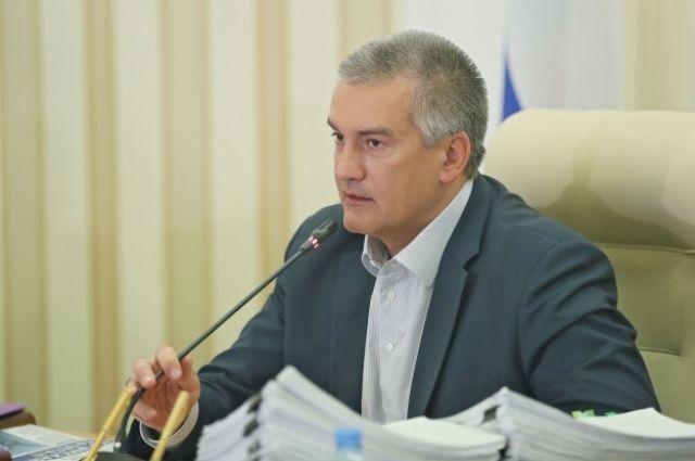 Аксенов представил руководству Крыма нового руководителя Госкомнаца
