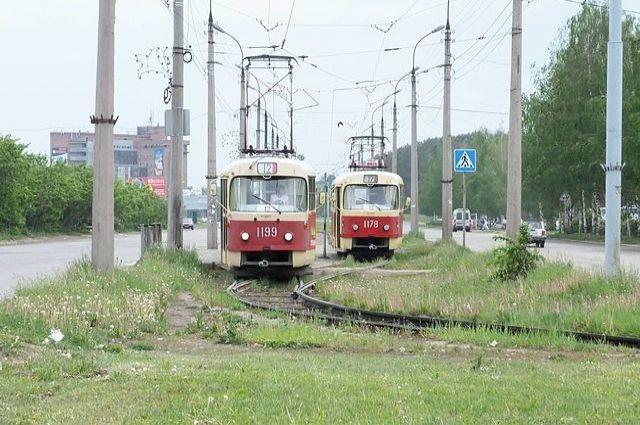 Трамваи по Ижевску курсируют с 1935 года.