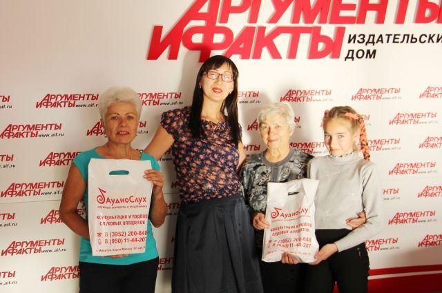 Победительницы конкурса селфи.