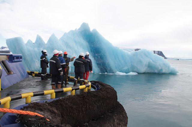 18 экспериментов по буксированию айсбергов прошли успешно.