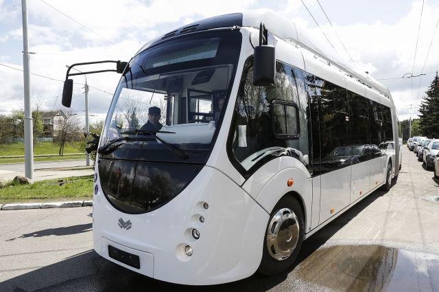 В Тюмень прибыл электробус