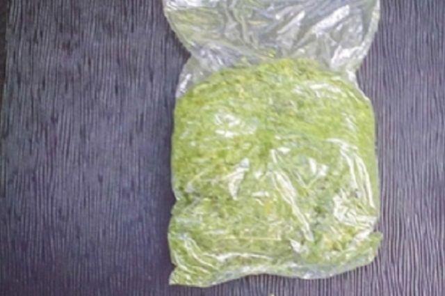 Ужителя Соль-Илецка изъяли неменее 1кг марихуаны
