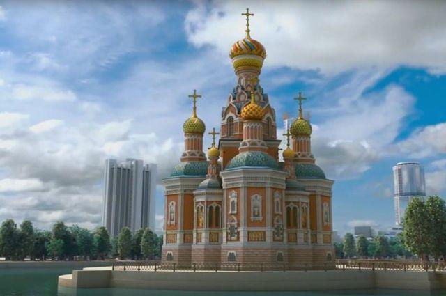 Храм Святой Екатерины будет отличаться от оригинала, взорванного болельщиками. Но его появление восстановит историческую справедливость.