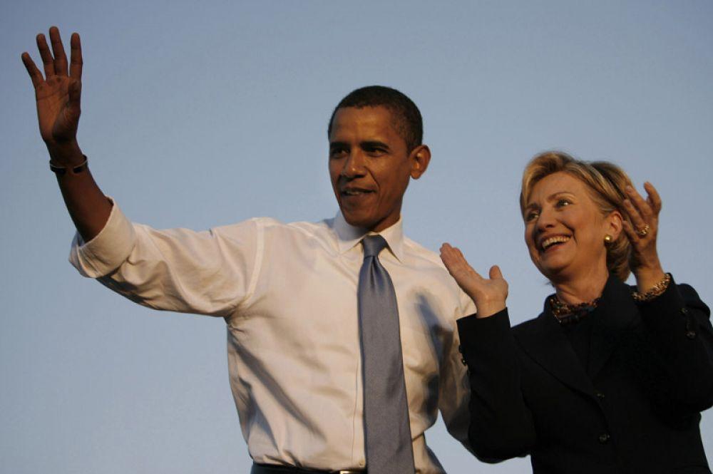 2008 год. Сенатор от штата Нью-Йорк Хиллари Клинтон приняла предложение президента Обамы стать государственным секретарем США.