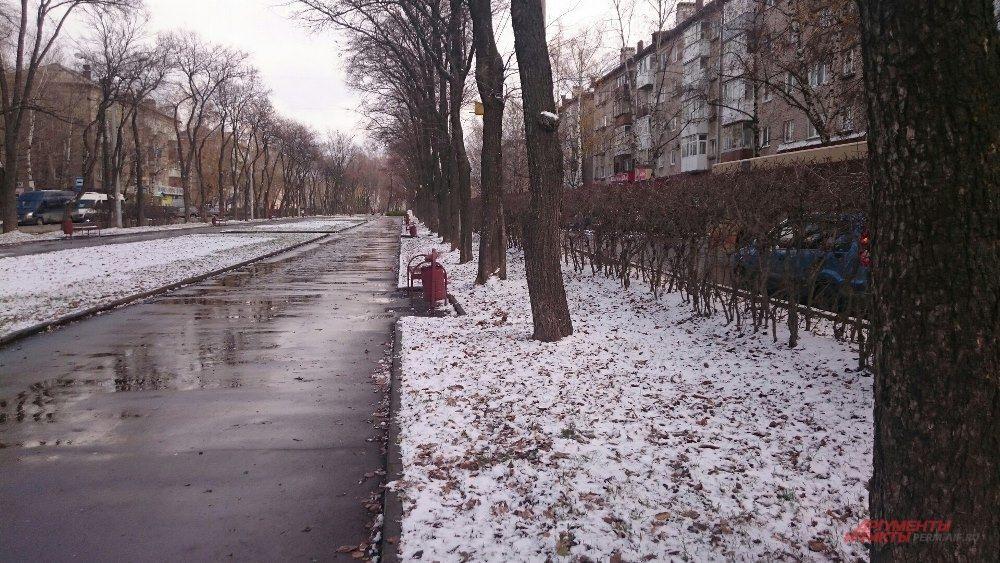 В субботу и в воскресенье в Перми ожидаются снегопады.