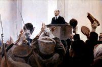 Владимир Ленин. Картина Евгения Кибрика
