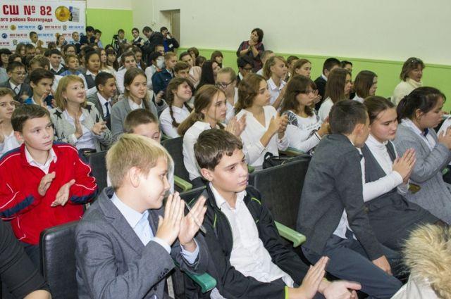 За два года реализации проекта на базе школы №82 в Волгограде 182 ученика стали участниками проекта.