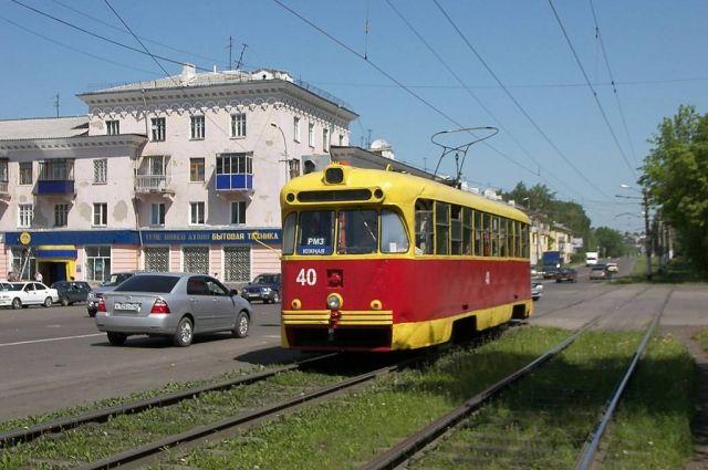 Трамвай - важный транспорт в Осинниках.