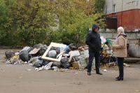 Такую картину общественники увидели в одном из липецких дворов.