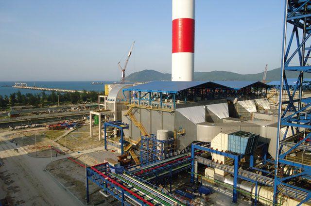 Электрофильтры холдинговой группы «Кондор-Эко - СФ НИИОГАЗ» на ТЭС во Вьетнаме.