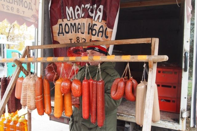 Надымчане купили у тюменцев 14 тонн продукции
