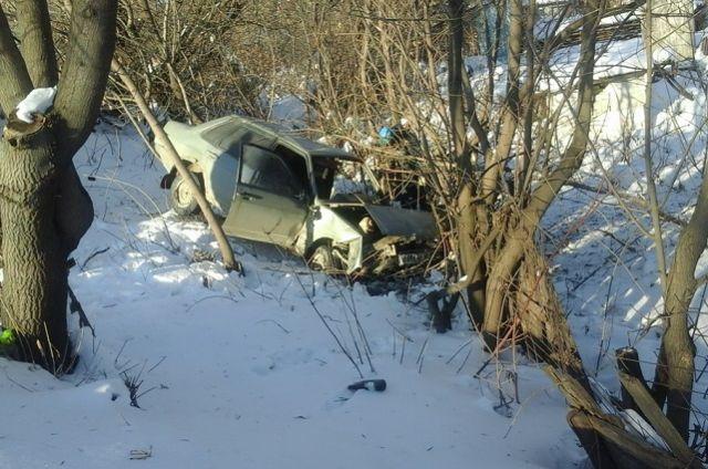 Ямальские водители оказались в кювете