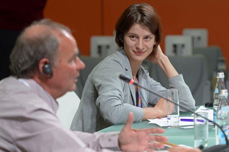 Журналистка Ксения Чудинова будет пресс-секретарём Собчак во время предвыборной кампании.