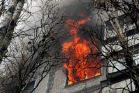 ВТюмени на КПД утром горела пятиэтажка