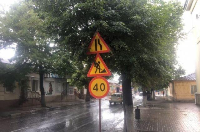 По новому регламенту, вступившему в силу 20 октября, инспекторы ДПС имеют право контролировать соблюдение скоростного режима по временным знакам.