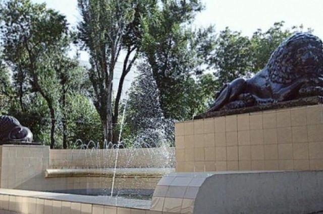 Ростовский фонтан «Львы» отреставрируют доконца ноября