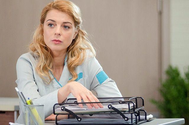 Кристина Кузьмина в сериале «Женский доктор».