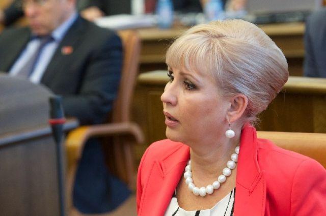 Марина Добровольская будет курировать социальные вопросы.