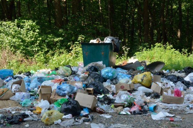 Места для складирования отходов все меньше.