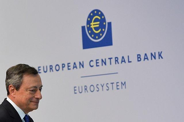 ЕЦБ оставил базовую ставку нанулевом уровне