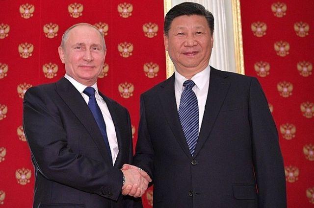 В.Путин иСиЦзиньпин договорились овстрече насаммите АТС