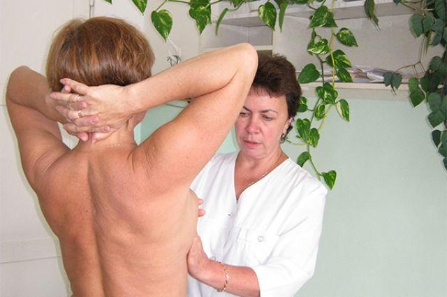 Женщины с раком груди нуждаются в психологической поддержке.