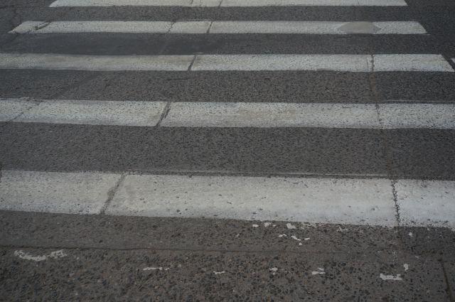 Авария с ребенком произошла на пешеходном переходе.