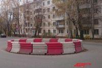 Мини-кольцо на перекрёстке улиц Лебедева и Циолковского должно повысить эффективность движения транспорта.
