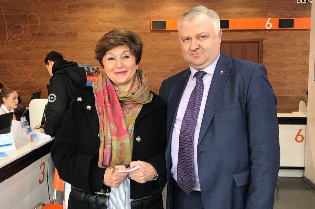 Юбилейным пользователем сервиса стала Татьяна Забродина.