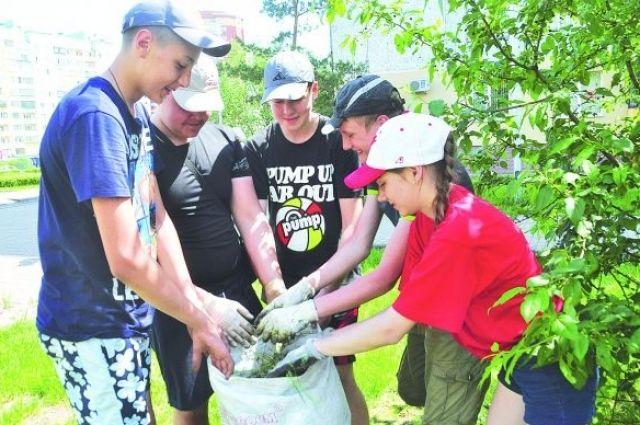 В Викуловском районе на общественные работы трудоустроили 110 жителей
