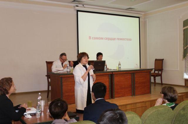Проблеме гемостаза был посвящён целый день конференции.