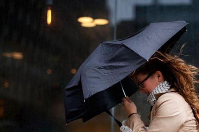 Предупреждение: сильный ветер иливни ожидаются вРостове иобласти