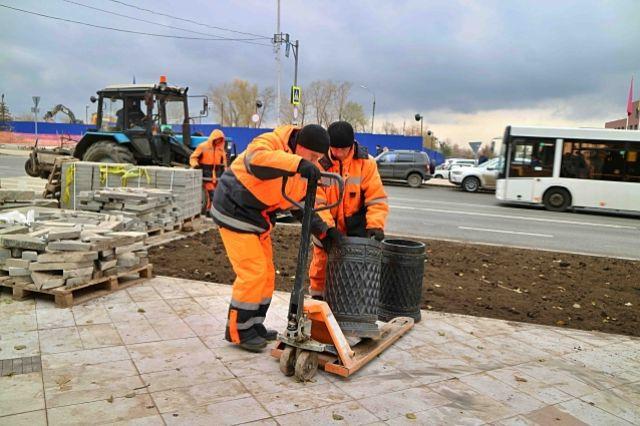 ВСамаре заканчивается комплексный ремонт Молодогвардейской